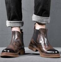 Stylische Herren Chelsea Boots Business Schuhe Stiefel 813545 Trendy Neu