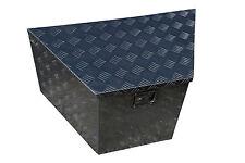 Aluminium trailer draw bar  tool box
