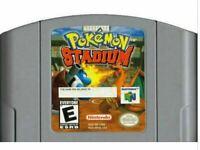 Pokemon Stadium - Nintendo N64 Game