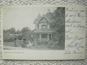 ALEXANDRIA LA-MODERN HOME-1905-RESIDENCE-RAPIDES PARISH LOUISIANA