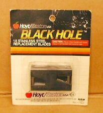 Original Hoyt Easton Black Hole Broadhead Replacement Blades - New Pack