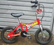 "Mongoose Pro Minigoose Red Bike BMX 12"" Wheels Rare Vintage Free Delivery"