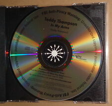 TEDDY THOMPSON - In My Arms - PROMO CD Single 2008 - Verve Forecast. Like new