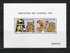 Briefmarken Olympische Spiele 1992 Andorra postfrisch