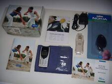 NOKIA 8210 ORIGINALE 1999 WHITE EDITION UNICO+ SCATOLA BATTERIA NUOVA ORIGINALE