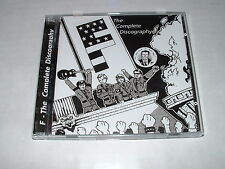 "F ""Complete Discography"" 2xCD NEW ""you are an ep"" 83-86 White Flag,EAT,kbd,punk"