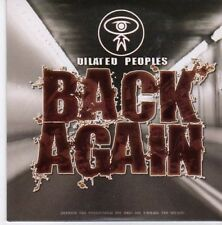 (CE609) Dilated Peoples, Back Again - 2005 DJ CD