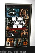 GTA Liberty City Stories Game used Good Sony PSP Italian Edition PG