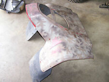 yamaha yfm250 moto 4 250 front red fender fenders plastic 1989 1991  89 1990 91