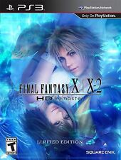Final Fantasy X / X-2 HD Remaster Limited Edition Bundle - PS3 Complete