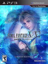 Final Fantasy X / X-2 HD Remaster -- PS3 Playstation 3