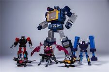 Transformers: MP KO Soundwave + 6 Taps Action Figure Toy - THF.