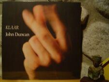 JOHN DUNCAN Klaar LP/1991 Extreme/The Hafler Trio/Electronic/Musique Concrete