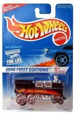 1996 Hot Wheels #370 First Edition #5 Rail Rodder China base