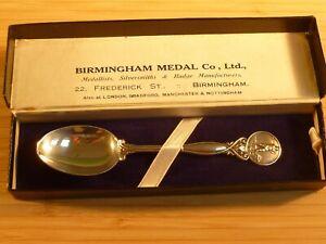 Birmingham Medal Co, Ltd. Solid Silver Golf Spoon Hallmarked 1933