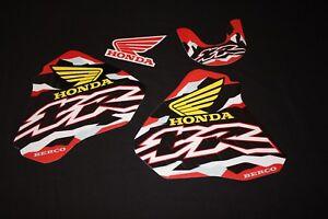 HONDA XR 250-400 1996-2006 MX RETRO GRAPHICS KIT DECALS KIT STICKER KIT STICKERS
