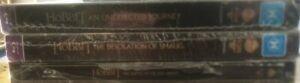The Hobbit Steelbook Set (Blu-Ray) New & Sealed. Region:B