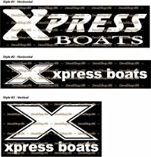 XPRESS Boats - Fishing/Outdoor Sports - Vinyl Die-Cut Peel N' Stick Decals