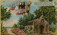 Shrine Nuestra Senora De La Leche Y Buen Parto St. Augustine FL Postcard B8