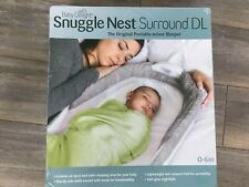 👶 Baby Delight Snuggle Nest Surround Gray Foldable Carry Handle