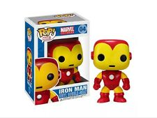 Marvel Universe Iron Man Pop Vinyl Figure (04) Classic Comic Version DAMAGED BOX