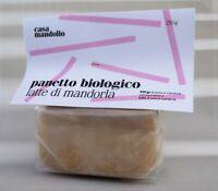 Panetto Pasta di Mandorle BIO Siciliana 55% per latte di mandorla, granite 250gr