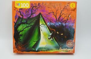 Vintage Goosebumps Puzzle Welcome to Camp Nightmare #9 100 pieces Complete 1995