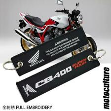 Honda CB400 CB400SF key chain Super four superfour 4 ring tag embroidery