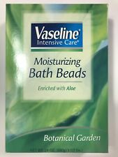 Vaseline Intensive Care Moisturizing Bath Beads Botanical Garden