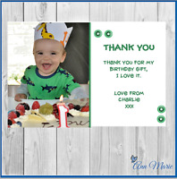 10 x PERSONALISED THANK YOU CARDS BIRTHDAY FOR MY GIFTS BIRTHDAY PARTY THANKS