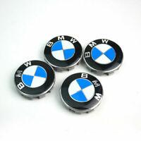 4 X 68mm BMW Nabendeckel Radnaben Nabenkappen Radkappe Felgendeckel Embleme 4