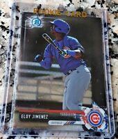 ELOY JIMENEZ 2017 Bowman Chrome Rookie Card RC Chicago Cubs White Sox HR Power $