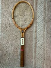 Vintage Slazenger Tournament Wood Tennis Racket Med 4 5/8 Unstrung