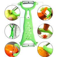 Kitchen Vegetable Fruit Gadgets Peeler Parer Julienne Cutter Slicer dual random
