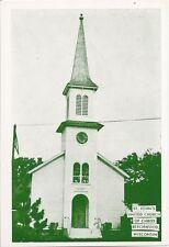 Postcard Wisconsin Beechwood St John's UCC Church 1960s Sheboygan Cnty MINT RPPC