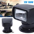 Boat Truck Car Marine Remote Control Searchlight Outdoor Spotlight 12V 100W