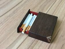 Handcrafted Wooden Cigarette Box Luxury Unique Design With Tray BLACK FRIDAY OFF