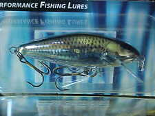 "Salmo 3 1/8"" Perch Minnow Lure PH8F-SMD - SIL MET DACE for Walleye/Pike/Bass"