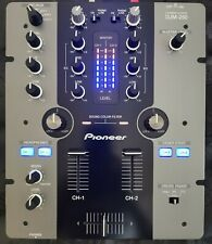 More details for mint pioneer djm 250 moded, fully working, 2ch dj audio mixer