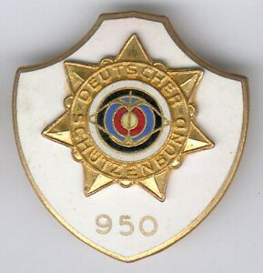"""Old German 1 Item German Schützenbund """"950"""""""