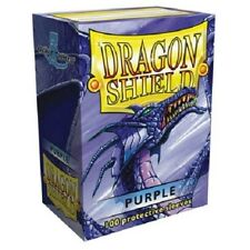 Dragon Shield Standard Size Card Barrier Protector Sleeves 100ct - Purple