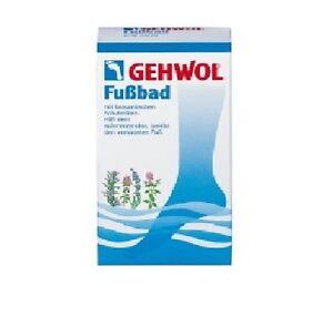 Gehwol Foot Bath 400g Alleviates aching, sore and sweaty feet.