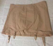 Playtex Can't Believe It's A Girdle Size 24 Shapewear New NWOT Garter Belt Beige