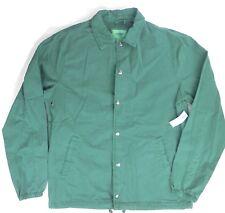 Men's Old Navy Casual full zip lined jacket sz XL long sleeve NEW! green