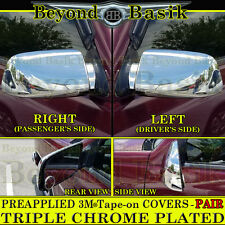 1994-2000 Chevy C/K 2500, 3500, Tahoe Yukon  Chrome Mirror Covers Overlays Trims