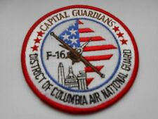 RAF/USAF cloth patch  F16 district of columbia air national guard