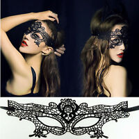 Sexy Elegant Halloween Masquerade Lace Eye Face Mask Ball Prom Costume Party Hot