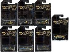 1/64 Hot Wheels 50th Anniversary Black & Gold Set Chase Gold Camaro in protector