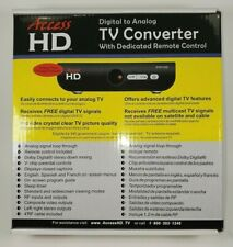 Brand New Access HD Digital To Analog TV Converter/ Remote Control DTA1030D