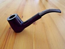 Dark Cherry Finished Wood Tobacco Pipe With Filter & Pouch Siting Pipe Freehand